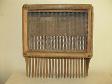 Vintage Wooden Cranberry Scoop Rake with Wood Tines