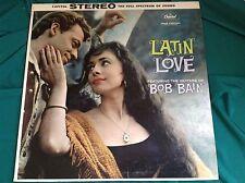 Original 1960 Latin Jazz LP : Bob Bain ~ Latin Love ~ Capitol ST 1201