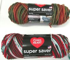 YARN RED HEART SUPER SAVER..2 COLORS TO CHOOSE FROM