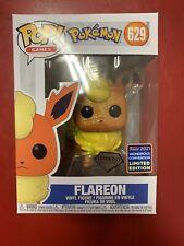 Funko Pop # 629 Flareon Pokemon Diamond WonderCon Shared Exclusive