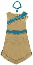Licensed Disney Pocahontas fancy dress costume 9-10 Years, Badge & Necklace BNWT