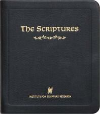 The Scriptures Pocket Edition Leather Bible: Institute for Scripture Research