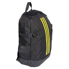 Children adidas Power IV Backpack Medium Black Kids Boys School Rucksack