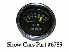 327 & 409 LOW PERF 64,63, CHEVROLET IMPALA SS 6000 TACH INSTRUMENT & LENS ONLY