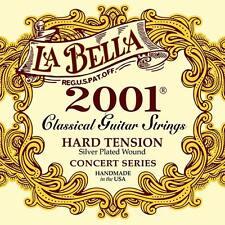 La bella 2001 Classic Series-Cadena de Guitarra Clásica Tensión duro