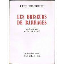 Les BRISEURS de BARRAGES de Paul BRICKHILL Avion LANCASTER de Barnes Wallis 1959
