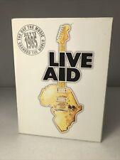 Live Aid July 13th 1985 (DVD, 2004, 4-Disc Set) NICE