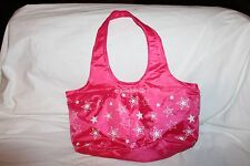 AMERICAN GIRL DOLL TOTE BAG DOLL CARRIER TRAVEL CARRYING CASE WHITE STARS RED