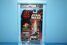 STAR WARS AFA GRADED 99 EP1 MINT ON CARD FIGURE PIT DROIDS 2 PACK 9.0