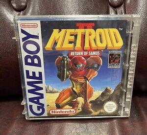 Metroid 2 Return of Samus Gameboy Game Boy OVP NOE Top