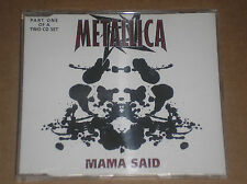 METALLICA - MAMA SAID - CD SINGLE PART 1 OF A 2 CD SET