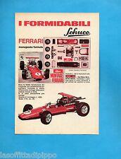 TOP970-PUBBLICITA'/ADVERTISING-1970- KOSMOS MILANO - SCHUCO FERRARI MONOPOSTO