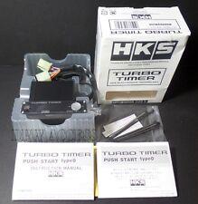 Genuine HKS Turbo Timer Push Start  Ignition Button Type O 0 9th Gen Red Led JDM