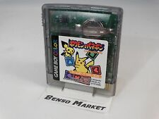 POKÉMON DE PANEPON PUZZLE CHALLENGE NINTENDO GAME BOY COLOR GBC ADVANCE GBA JAP