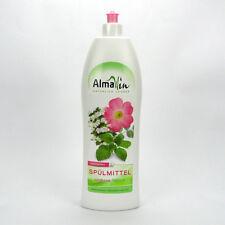 (3,19/L) Almawin Spülmittel Wildrose & Melisse vegan 1 L 1000 ml