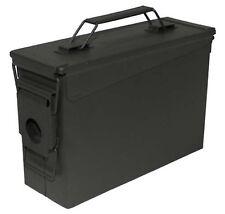 MFH MUNIZIONI USA scatola m19a1 Ammobox munikiste SCATOLA VERDE OLIVA 27,9x9,6x18,4cm