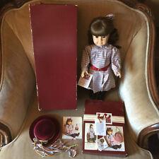 American Girl White Body Samantha Pleasant Company Meet Accessories + Box