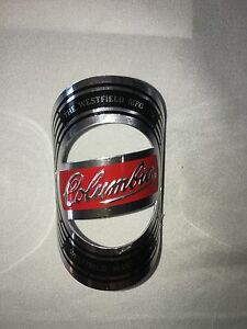 Columbia name plate Bicycle badge  headbadge Logo Emblem Tag Metal  head badge