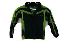 Spyder XT Kid's Full Zip Black Snowboard Waterproof Breathable Ski Jacket Sz 16