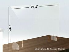 Pvc Sneeze Guards 24H X 24W Condition is New. More than 200 Available