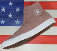 CONVERSE Chuck Taylor SAMPLE ALL-STAR HI Light Brown Nubuck Shoe [159749C] Men 9