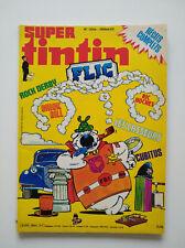 EO 1981 (bel état) - Super Tintin Flic (12 bis) - Lombard