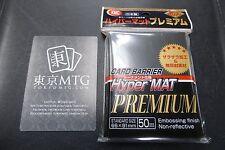 x1 pack Hyper Mat PREMIUM Black KMC Card-Barrier Matte 50 ct sleeves mtg