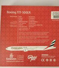 Gemini Jets 1/400 Emirates BOEING 777 300 ER