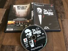 Godfather: The Game (Sony PlayStation 2, 2006) Used Free US Shipping
