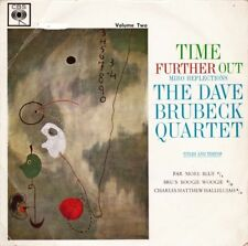DAVE BRUBECK QUARTET - TIME FURTHER OUT VOLUME 2 7 INCH EP CBS 5535 JAZZ