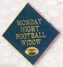 Hat Lapel Pin sports Monday Night Football Widow NEW