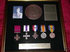 Chavasse VC & Bar framed medal group
