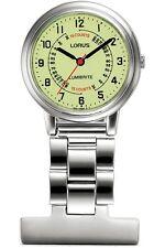 Lorus Lumibrite Dial Doctor Nurse Unisex Fob Watch Glows in The Dark RG253CX9