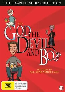 The God Devil And Bob (DVD, 2012, 2-Disc Set)--free postage
