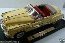FAIRFIELD MINT 1949 BUICK RAGTOP YELLOW CAR MODEL 1:18 SCALE new