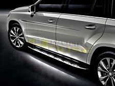 Aluminum Running Board W LED For 13-18 Mercedes-Benz X166 GL-Class