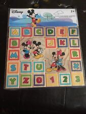 Disney Jr. Mickey Mouse Clubhouse Mickey and Minnie Learn and Grow Play Blocks