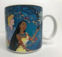 Vintage Disney Pocahontas Collectible Mug Disney Store 90's