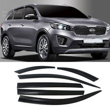 Smoke Window Sun Vent Visor Rain Guards 6P D030 For KIA 2015-2017 Sorento UM