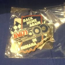 Indianapolis Indy 500 2017 BACK HOME AGAIN IN INDIANA Event Logo PIN NEW!