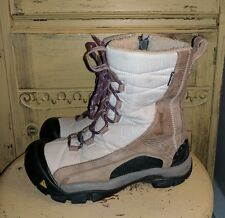 KEEN DRY WARM LADIES WINTER HIKING BOOTS TAN BROWN -30 BOOTS TRAIL 6.5 400 GRAM