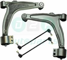 FOR VAUXHALL VECTRA C FRONT SUSPENSION LOWER WISHBONE ARMS & DROP LINKS KIT