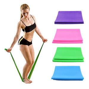 1.2M Yoga Elastic Strap Stretch Strap Rubber Stretch Resistance Exercise Band US