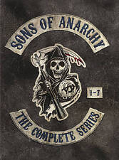 Sons of Anarchy Complete Series Seasons 1-7 Season 1 2 3 4 5 6 7 (DVD 2015) NEW