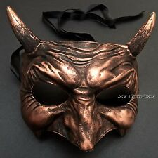 Scary Unisex Half Face Devil Costume Halloween Masquerade Party Mask