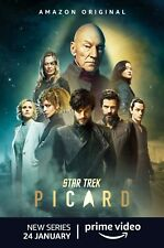 Star Trek Picard poster (d) - 11 x 17 inches - Patrick Stewart