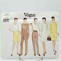 Vogue Suit Pants Skirt Dress Jacket Top Pattern 1925 Size 14 16 18 Church Office