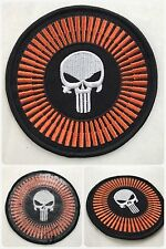 Punisher Skull Rifle Bullets SWAT Airsoft Morale Biker Embroider Patch Iron/Sew