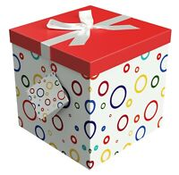 Gift Box - Gift Boxes with Lids - Party Supplies - Garnier - EndlessArtUS