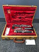 Leblanc Paris Wood Clarinet With Hard Case and Vandoren Mouthpiece Just Overhaul
